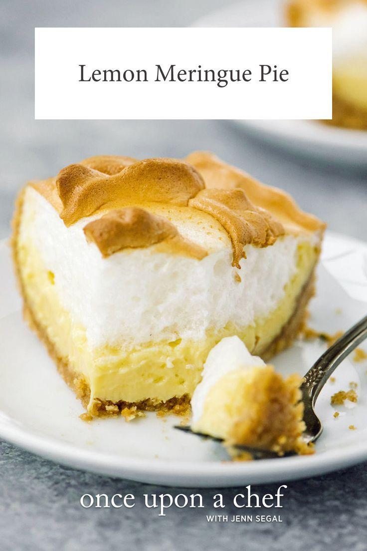 Easy Lemon Meringue Pie Recipe Meringue Pie Recipes Lemon Meringue Pie Easy Food