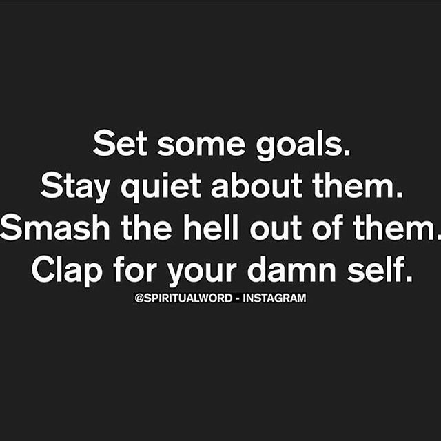 -@rainbowchatman There's nothing more satisfying than when you achieve goals you set for yourself and stop seeking approval from others. #effyourbeautystandards