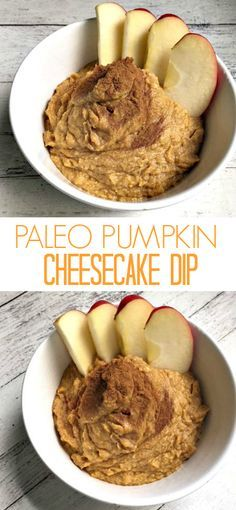 Try my recipe for Paleo Pumpkin Cheesecake Dip!