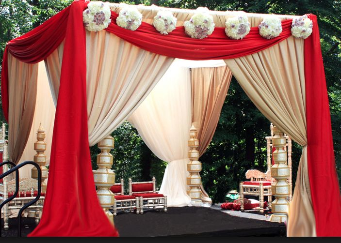 wedding ceremony mandap decorations