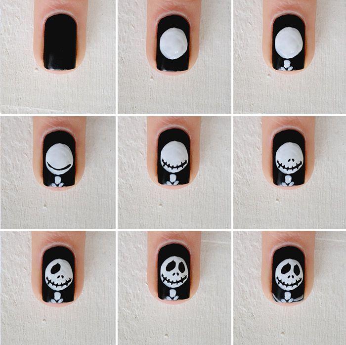 Nail art: o estranho mundo de Jack