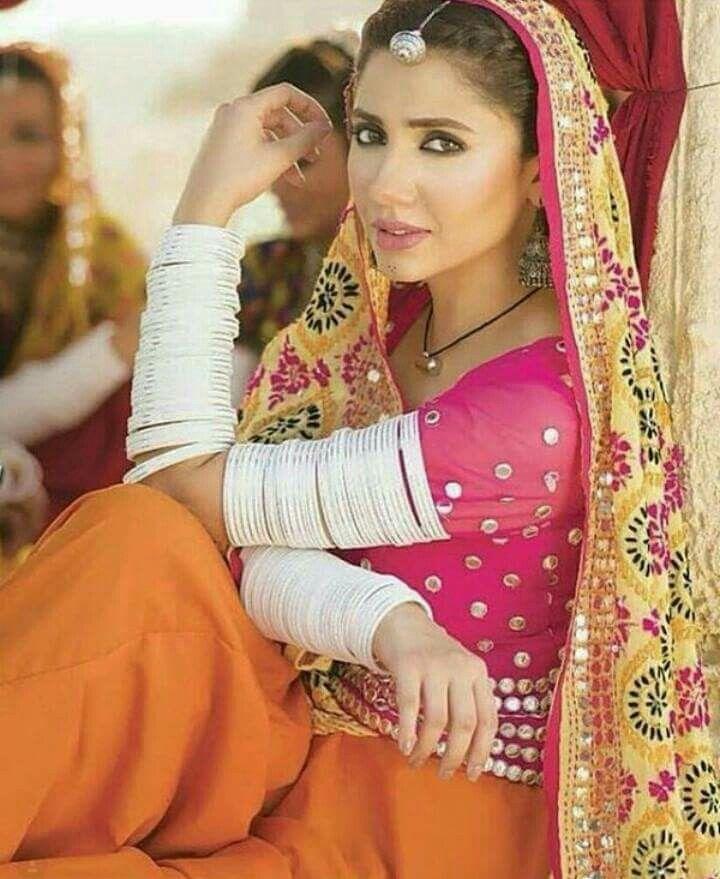 Mahira khan in Rajasthani style