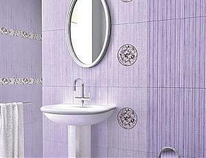 Керамическая плитка для ванной Ализе Виола / Azori
