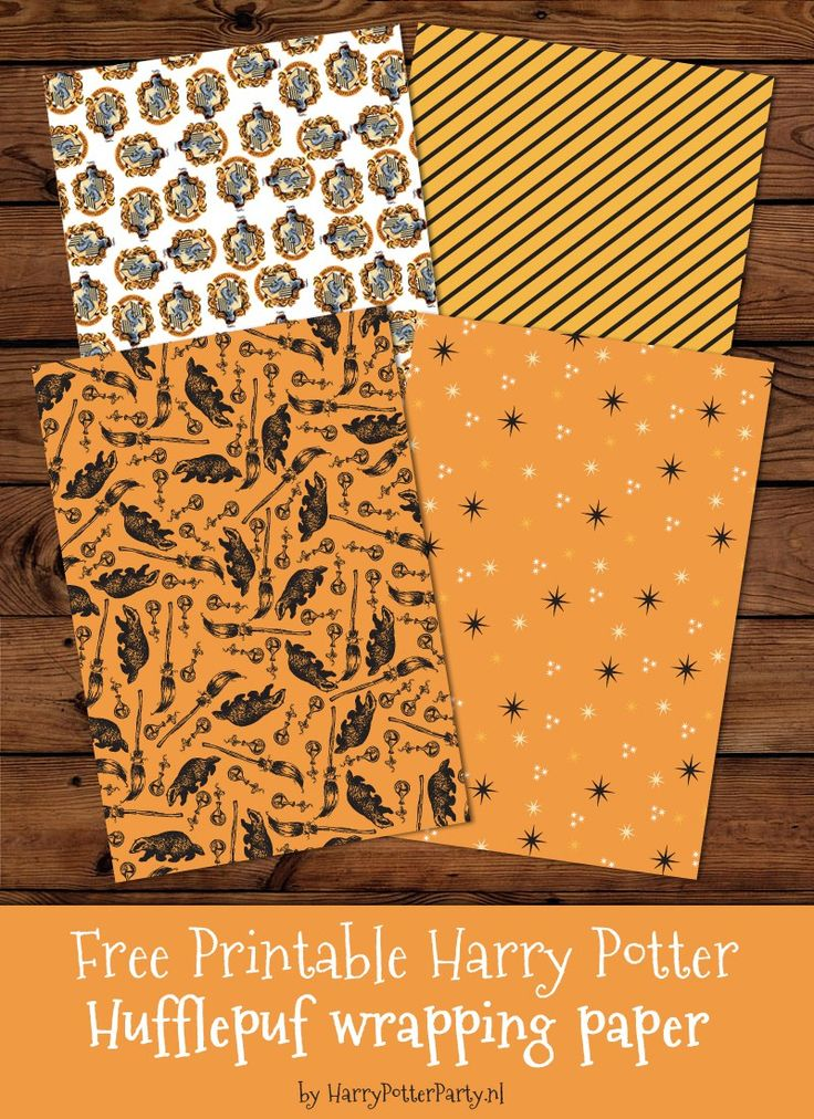 harry potter wrapping paper Check out these harry potter party invitations by owl post  printing this invite on parchment paper and each letter will have a train ticket also as the.