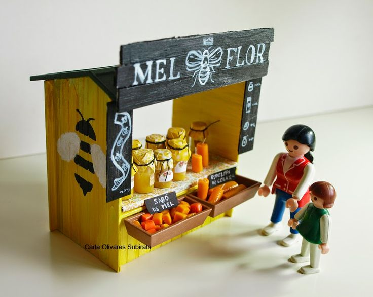 Custom playmobil - clickpatum #Patum #berga http://ninesdollspoupemunecas.blogspot.com.es/