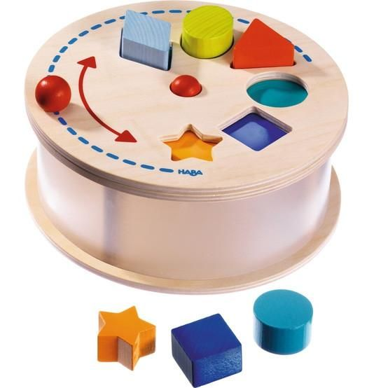 Carousel Rainbow Sorting Box (Haba) via Send A Toy