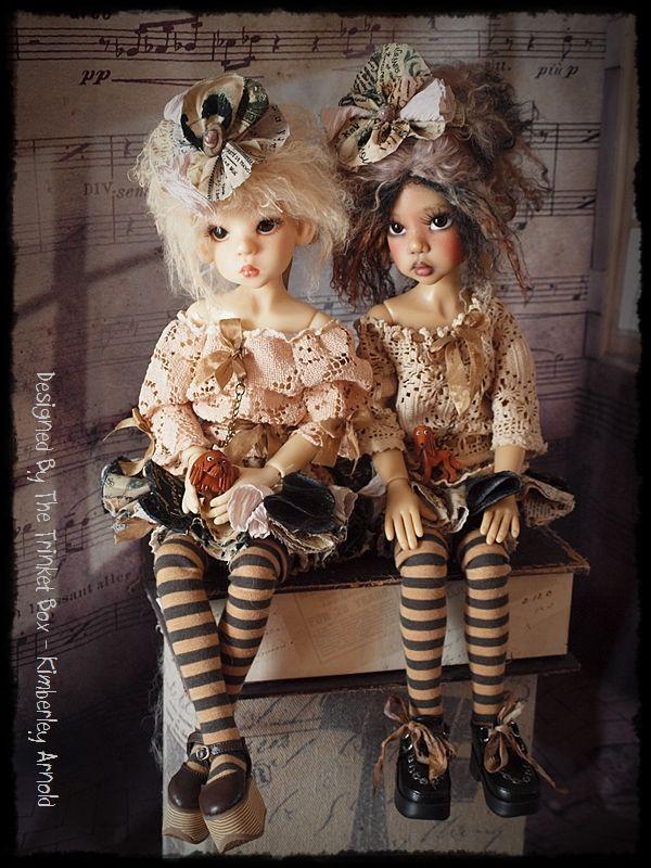 Designed  by The trinket box - Kim Arnold. - Kaye Wiggs doll