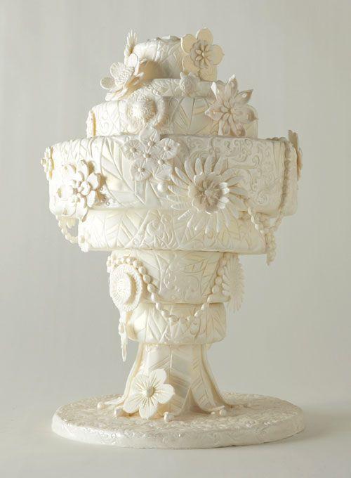Inspired by an art-deco chandelier #weddings #weddingcake: Cakes Ideas, Wedding Ideas, Wedding Cakes, Eating Cakes, Beautiful Cakes, Artdeco, Art Deco, Cakes Wedding, Fondant Cakes