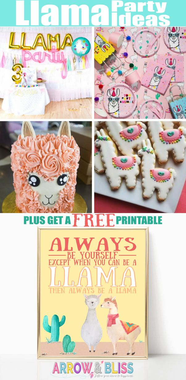 Llama Party Ideas You'll Love Plus FREE PRINTABLE