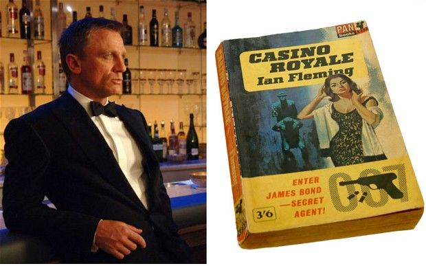 Casino Royale: 60 years old today Ian Flemings James Bond novel Casino Royale was first published on April 13 1953 and there is an intriguing tale behind the original screenplay of the 007 film adaptation.