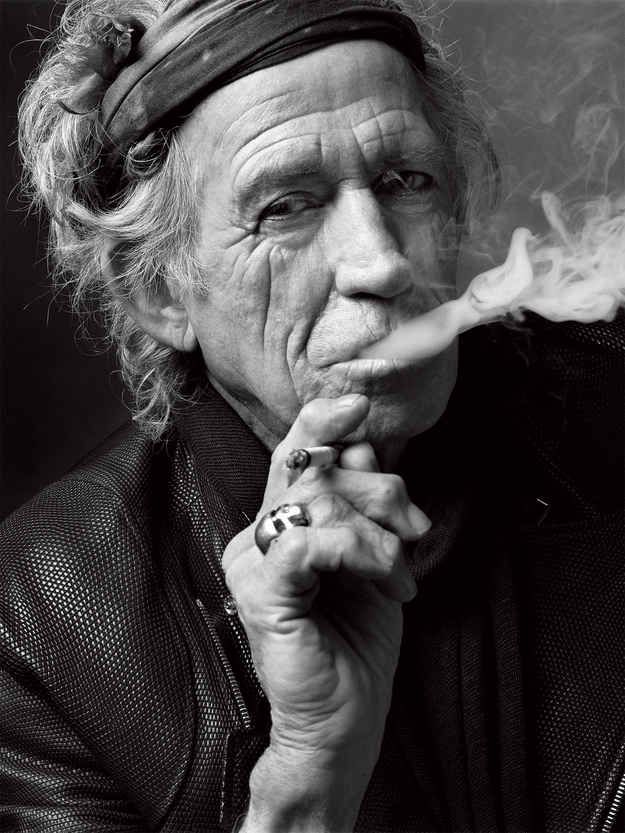 Keith Richards, New York, 2011.   14 Jaw-Droppingly Gorgeous Celebrity Portraits