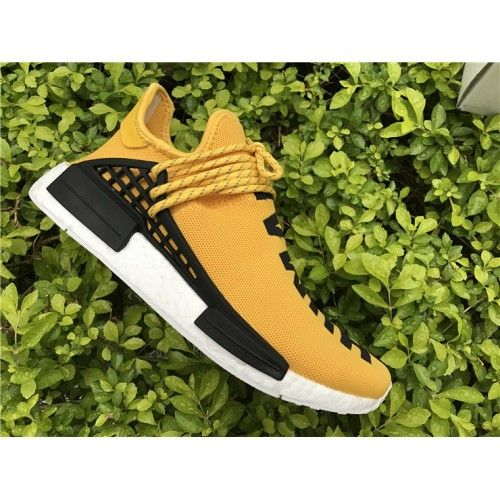 info for 84e5b 1a943 2017 Pharrell x Adidas Boost NMD Human Race Amarillo-Blanco