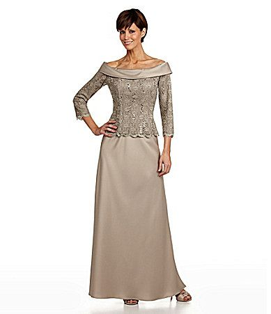 17 best images about formal dresses on pinterest gowns for Dillards wedding dresses mother of the bride