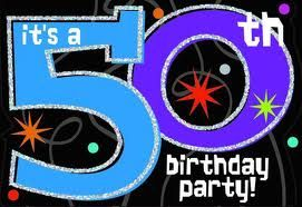 Ideas for a 50th Birthday Party