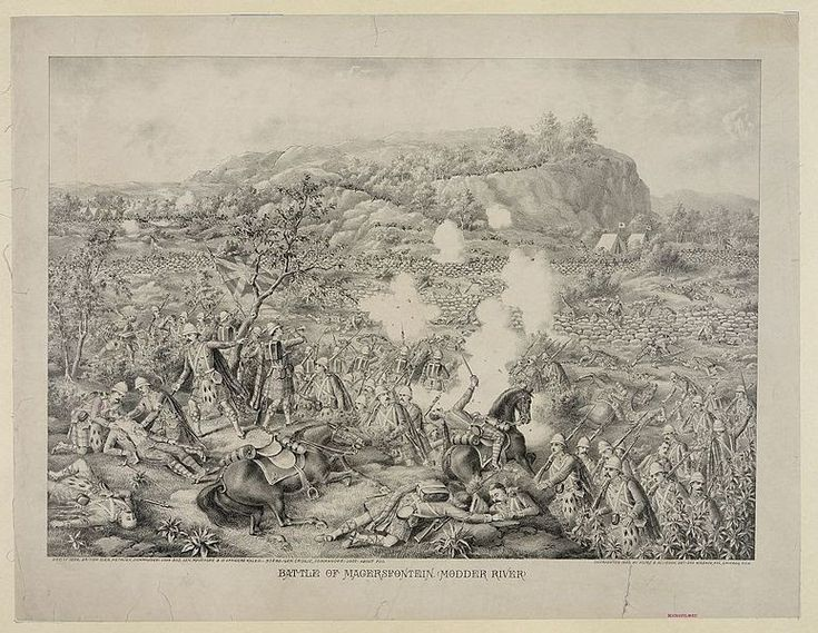 The Battle of Magersfontein was fought on 11 December 1899, at Magersfontein near Kimberley on the borders of the Cape Colony and ...