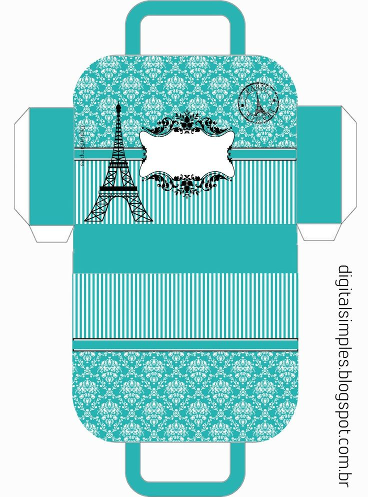 Festa Aniversário Paris Tiffany, com rótulos, caixinhas, convites...etc...vários personalizados do tema Paris Tiffany.