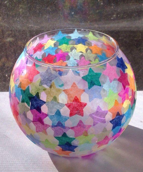Mehrfarbige Stern Laterne Sterne Kinder Basteln Laternen Lampe Selber Basteln