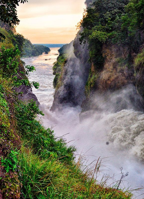 Murchison Falls, Nile River, Uganda