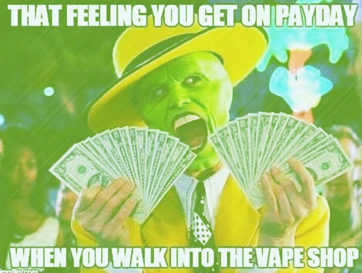 In honor of International Joke Day...    Yesterday was payday! Show some love to your local vape shop or even our online store!  http://www.shop.jocojuice.com/    #InternationalJokeDay #VapeFunny #SaturdayShopping #PremiumELiquid #Vaping #VapeAdvocates #LOCO4JoCo #JoCoJuice #VapeCommunity #VapingSavesLives