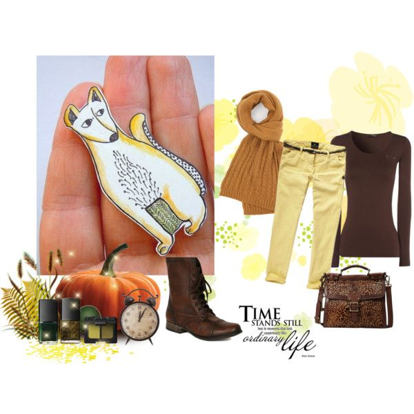 """""""Warm fall"""" by valeriatelier on Polyvore"""