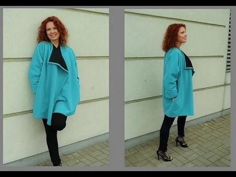 Jak uszyć płaszczyk/kurtkę w 2 godziny z tkaniny dwustronnej by słoneczn...