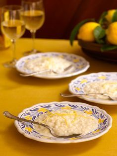 Lemon Risotto ~ Risotto al Limone  (This recipe is an adaptation of one used at Da Filippo in Sorrento, Italy.)