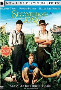 Secondhand Lions  Tim McCanlies, Michael Caine, Robert DuvallMovie Mad, Favorite Tv, Robert Duvall, Secondhand Lion, Movie Book Mus, Families Movie, Movie Tv Mus, Favorite Movie, Lion Tim