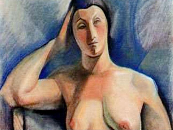 "Detalle de ""Desnudo (1927)"" Lino Enea Spilimbergo"