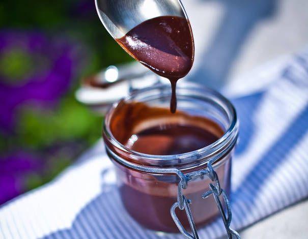 Egészséges csokoládé öntet