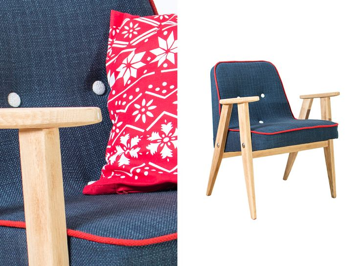 Armchair originally produced in 1968, refurbished by NANA design in 2013