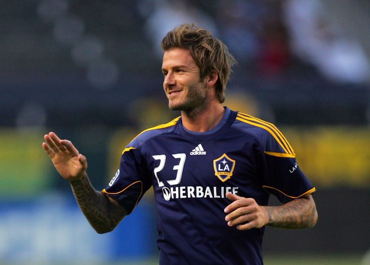 beckham tied hair style Men Hairstyle Pinterest