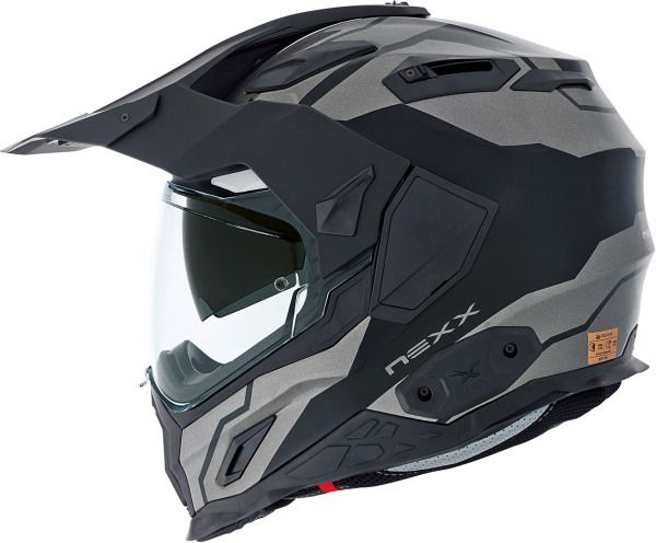 NEXX X.D1 Dual Sport Baja Titanium | The Helmet Warehouse