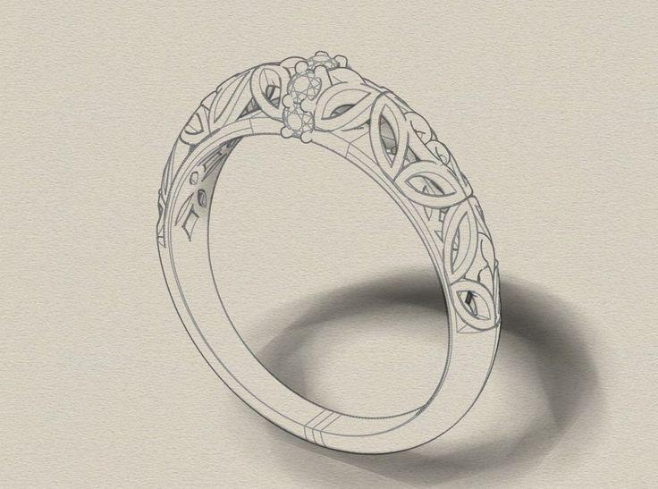 3d cad design custom engagement ring custom made ring custom wedding rings custom wedding design custom made wedding diamond bands