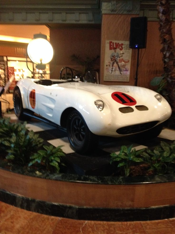 "427 Cobra from the Elvis movie ""Spinout"" on display at the Hollywood Hotel & Casino in Tunica, MS."
