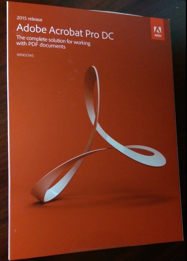 Adobe Acrobat Pro DC for Windows, 2015 Release, Full Version, Retail Box, SEALED #Adobe