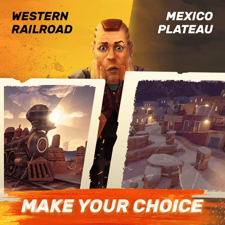⭐ Mexico: Plateau or Western Railroad? ⭐ Play Guns of Boom ➡ gigam.es/GunsGame These two new maps both are set at night, but their styles and structure are very different. Which one do you prefer? Which one do you like capturing and completing objectives in more? #tactical #survival #military#offthegrid #touchoftactical @touch.of.tactical