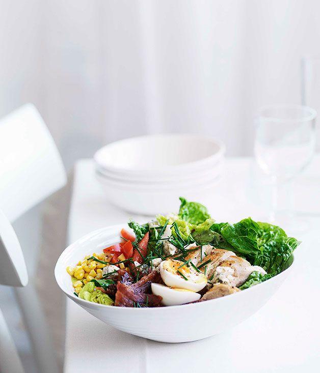 Australian Gourmet Traveller American recipe for Cobb salad.