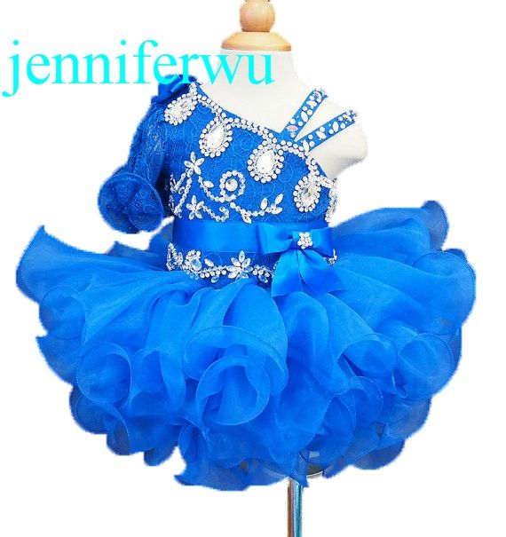 89.00$  Watch now - royal blue tutu skirt baby girl formal dress with stone beading 1T-6T G008-8  #aliexpresschina