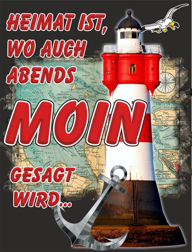 Heimat ist, wo auch abends Moin gesagt wird. Hamburg