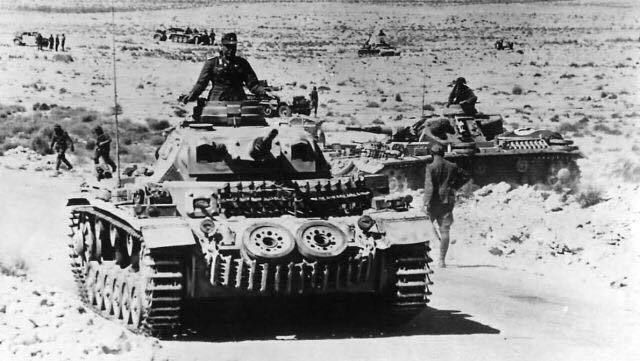 Panzer III Ausf G of the Afrika Korps in El Brega, North Africa - pin by Paolo Marzioli