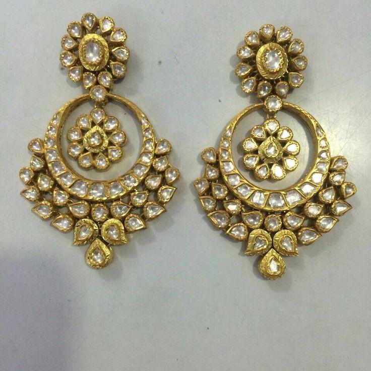 Polki earings