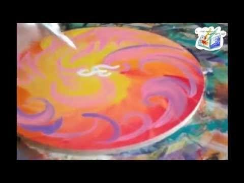 Mandala wip: il fiore di fuoco