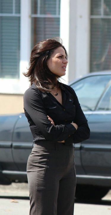 Awesome Lana (Regina) #Once #BTS the awesome Once S5 E2 #The Price #Steveston Village #Richmond Vancouver BC Wednesday 7-22-15