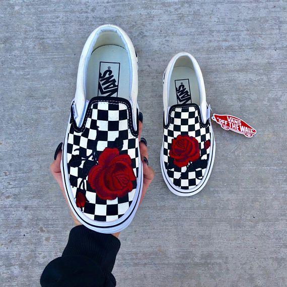014e1528cd52 custom vans shoes