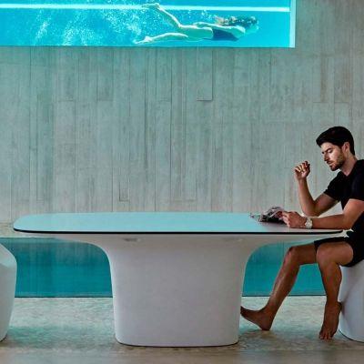 Tavoli Da Esterno Di Design.Vondom Ufo Tavolo Da Esterno Di Design Tavolo Da Giardino