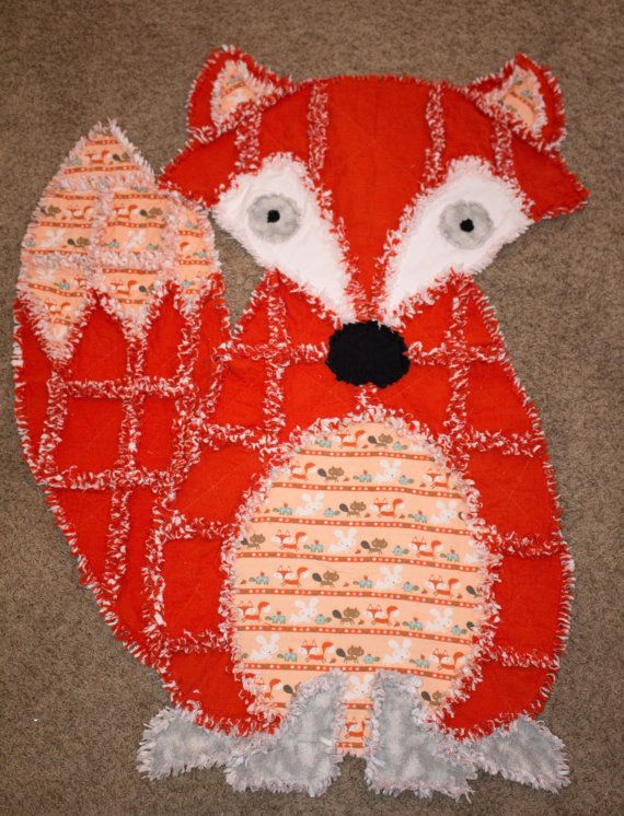 Animal Rag Quilts Shaped