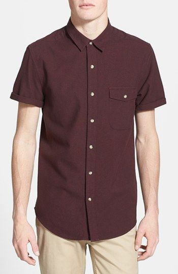 Topman Short Sleeve Shirt available at #Nordstrom