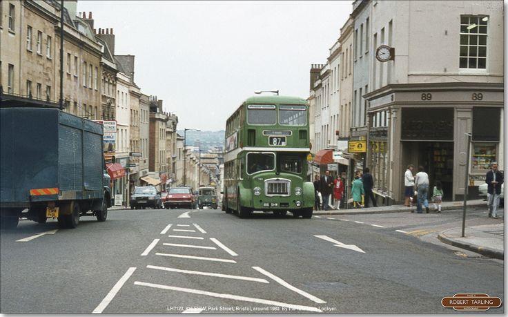 https://flic.kr/p/Dt69b8 | LH7123 climbs Park Street, Bristol, about 1980