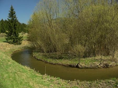 Slovakia, River Hron - Meandres