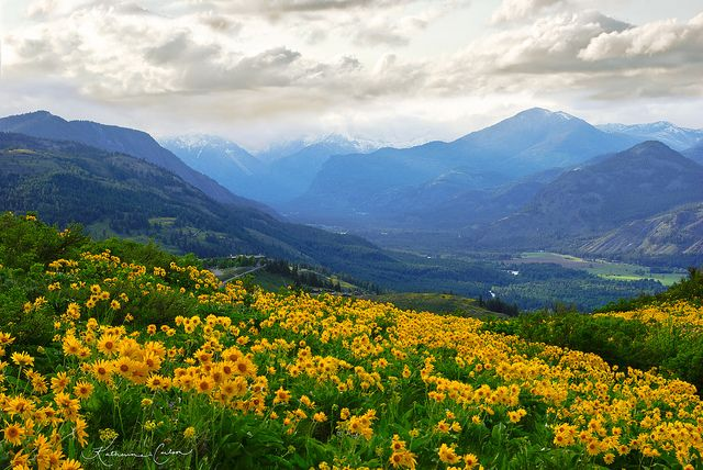 The Methow Valley of Washington is one of the most beautiful places in America at any time of year. Photo by Katherine Carlson.